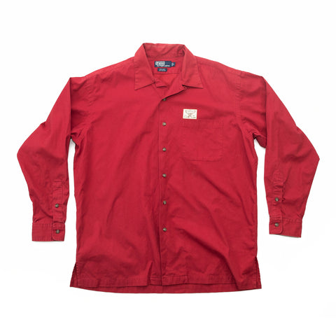 Polo Sportsman Elk Patch Oxford Shirt
