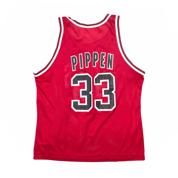 Champion Scottie Pippen Chicago Bulls Road Jersey