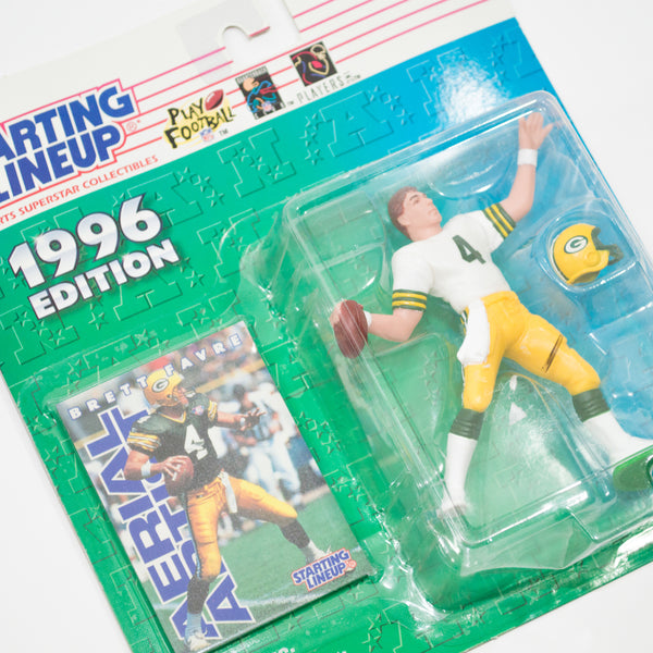 1996 Brett Favre 'Starting Lineup' Figurine by Kenner