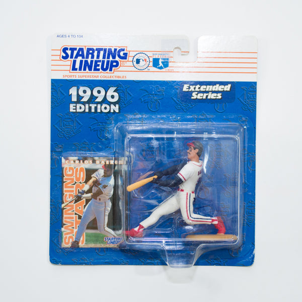 1996 Carlos Baerga 'Starting Lineup' Figurine by Kenner