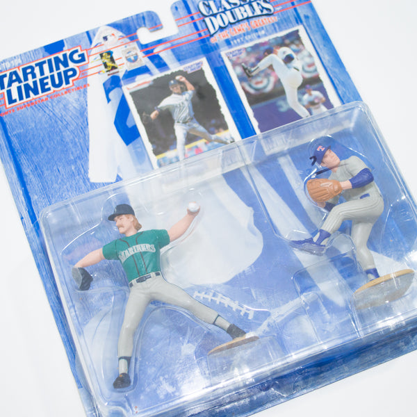 1997 Classic Doubles Randy Johnson & Nolan Ryan 'Starting Lineup' Figurine by Kenner