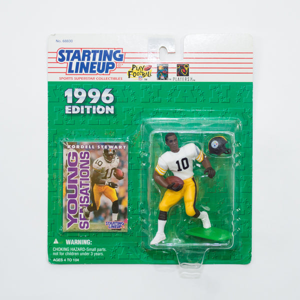1996 Kordell Stewart 'Starting Lineup' Figurine by Kenner