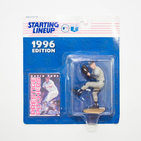 1996 David Cone 'Starting Lineup' Figurine by Kenner