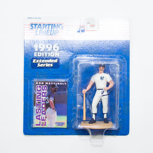 1996 Don Mattingly 'Starting Lineup' Figurine by Kenner