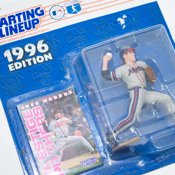 1996 Greg Maddux 'Starting Lineup' Figurine by Kenner