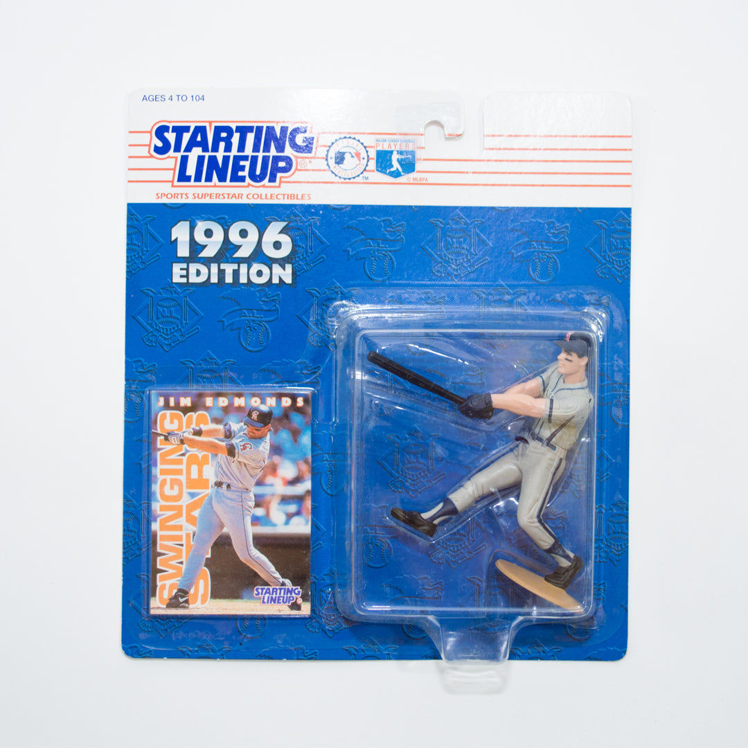 1996 Jim Edmonds 'Starting Lineup' Figurine by Kenner