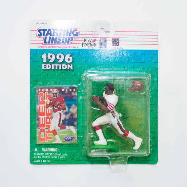 1996 Jerry Rice 'Starting Lineup' Figurine by Kenner