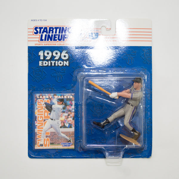 1996 Larry Walker 'Starting Lineup' Figurine by Kenner