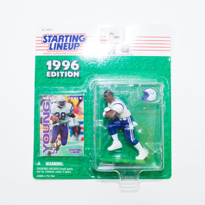 1996 Marshall Faulk 'Starting Lineup' Figurine by Kenner