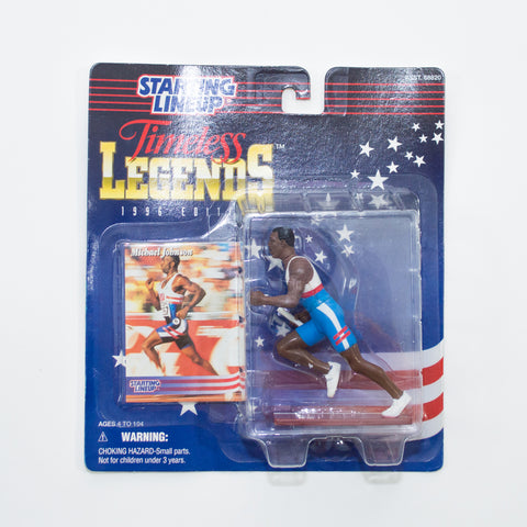 1996 Michael Johnson 'Starting Lineup' Timeless Legends Figurines by Kenner