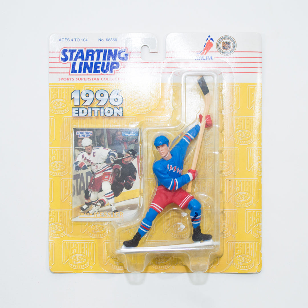 1996 Mark Messier 'Starting Lineup' Figurines by Kenner