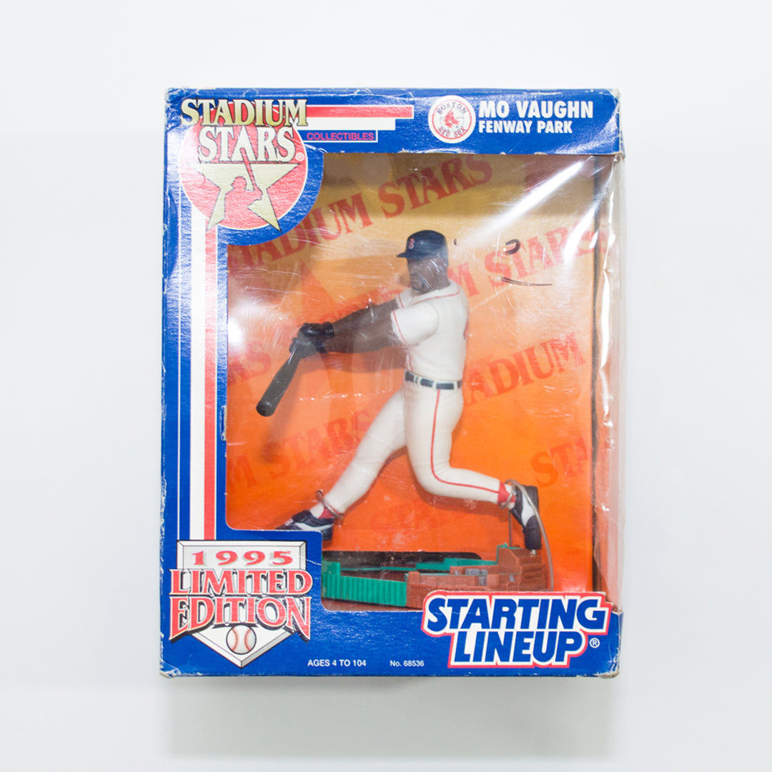 1995 Mo Vaughn 'Starting Lineup' Stadium Stars Figurine by Kenner