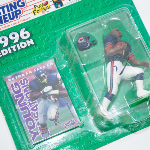 1996 Rashaan Salaam 'Starting Lineup' Figurine by Kenner