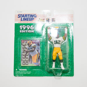 1996 Reggie White 'Starting Lineup' Figurine by Kenner