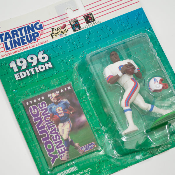 1996 Steve McNair 'Starting Lineup' Figurine by Kenner