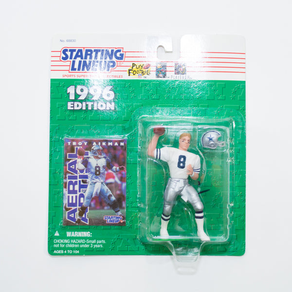 1996 Troy Aikman 'Starting Lineup' Figurine by Kenner