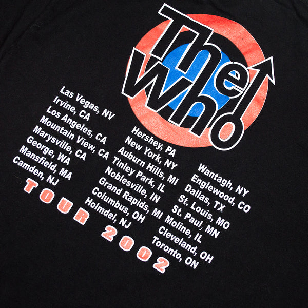 2002 The Who Tour T-Shirt