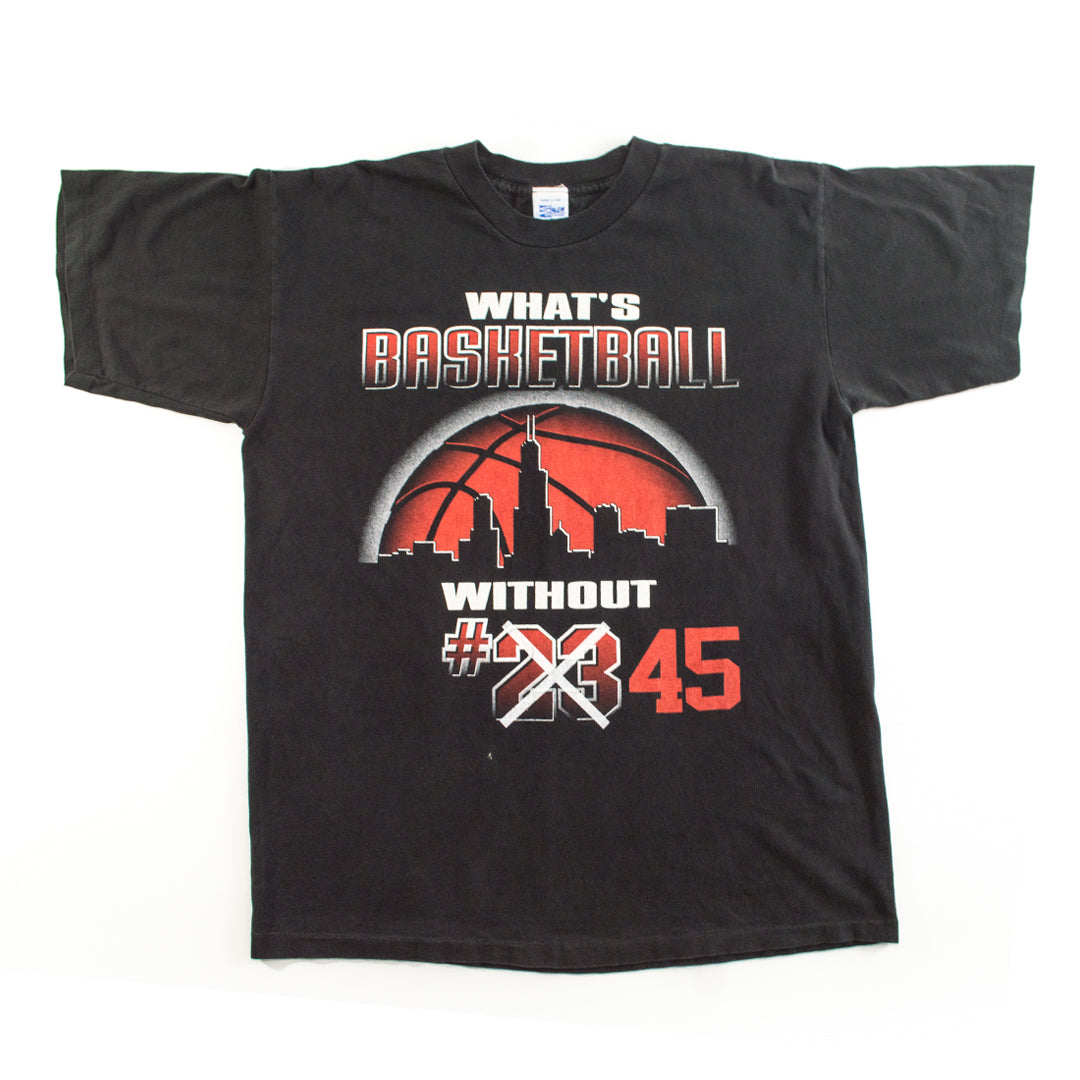 "Salem Sportswear ""What's b-ball..."" Jordan T-shirt"