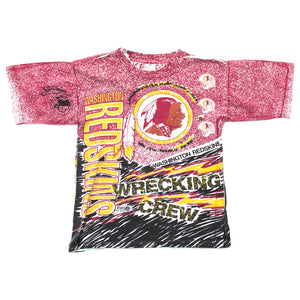 Youth Magic Johnson T's Washington Redskins All Over Print T-shirt