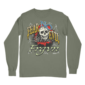 """Fear No Evil 5"" Long Sleeve T-Shirt"