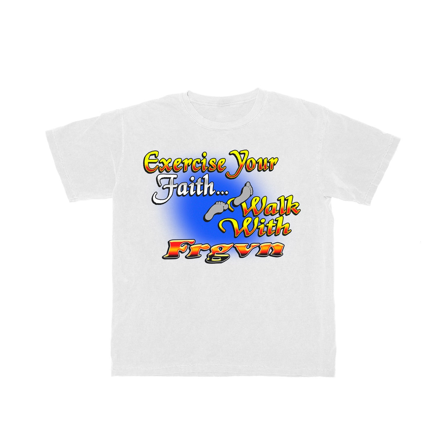 """Walk with FRGVN"" T-Shirt"