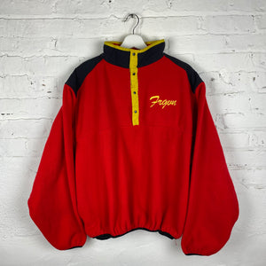 Vintage FRGVN Snap Mock Neck Tech Fleece