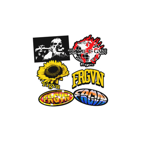 "FRGVN ""Mini Sticker Pack "" Stickers"