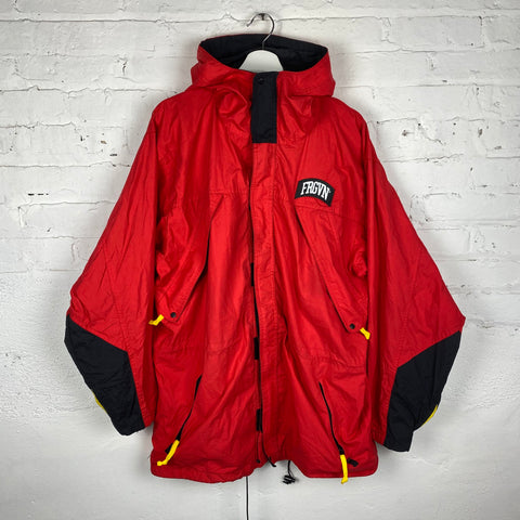 Vintage FRGVN Hooded Lightweight Parka