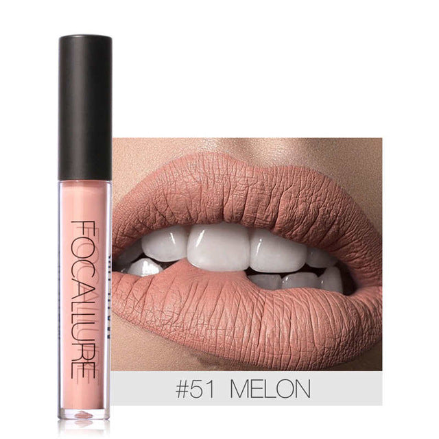 Waterproof Liquid Lipstick Nude Series- Long Lasting