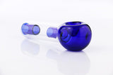 Dichroic Blue Ice Glass Pipe - Online Bongs, Pipes Trimeck.com