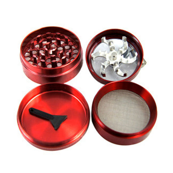 Four Layers Aluminium Grinder - Online Bongs, Pipes Trimeck.com