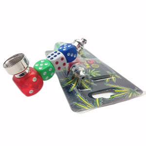 Dice Metal Pipe - Online Bongs, Pipes Trimeck.com