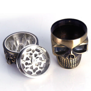 Three Layer Skull Grinder - Online Bongs, Pipes Trimeck.com