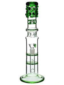 "Blingy Betty 8mm bowl Blue/Green 13"" - Online Bongs, Pipes Trimeck.com"