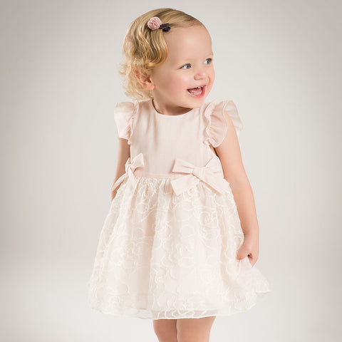 RTS-Blush Pink Rose Dress