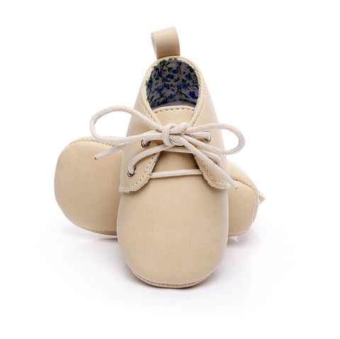 Beige Baby Shoes
