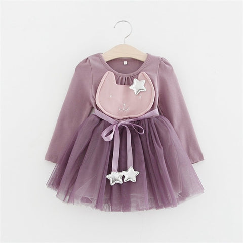 Purple Cat Dress