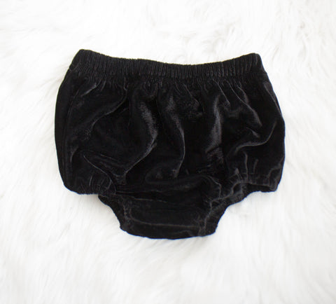 Black Velvet Bloomers
