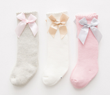 Adorable Bow Socks - Choose your color