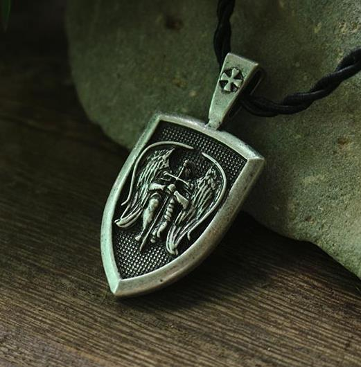 Saint Michael Charm Pendant for Protection