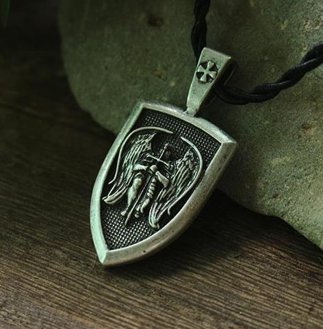 Image of Saint Michael Charm Pendant for Protection