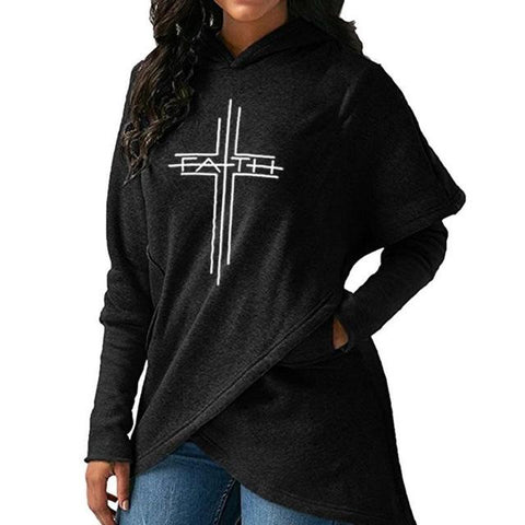 Cross of Faith Fashion Hoodie