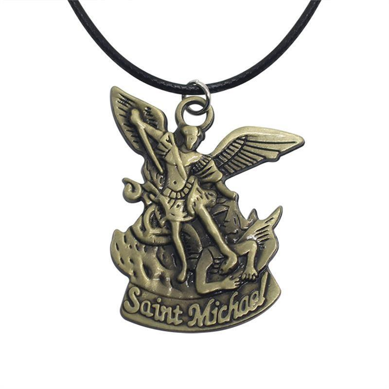 Saint Michael With Sword Pendant
