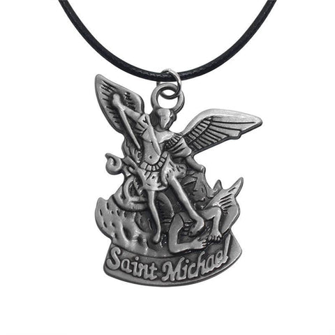 Image of Saint Michael With Sword Pendant
