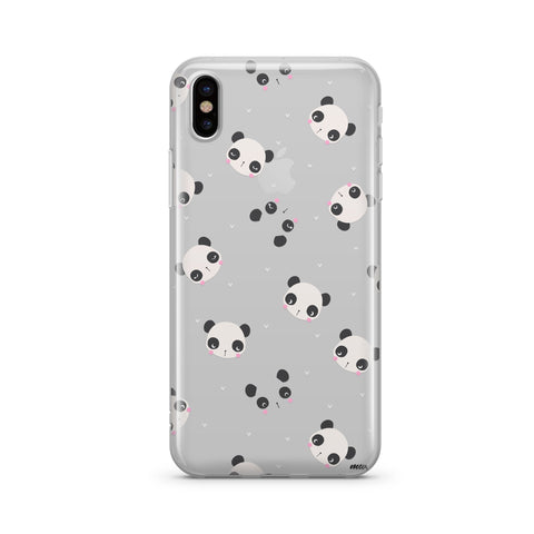 Image of PANDAmonium - Clear Case Cover