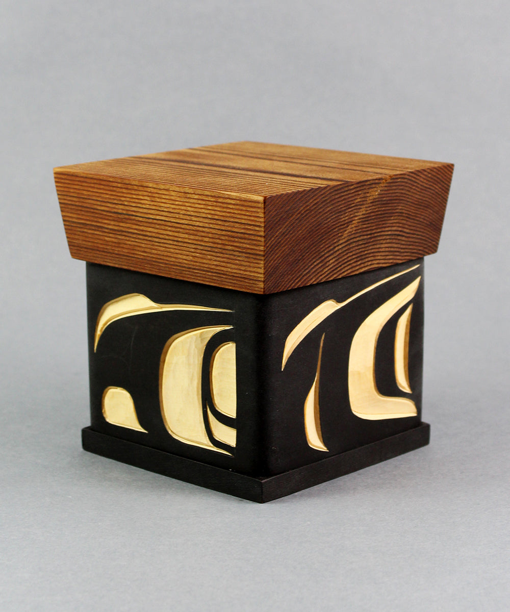 Abstract-Eagle Bentwood Box
