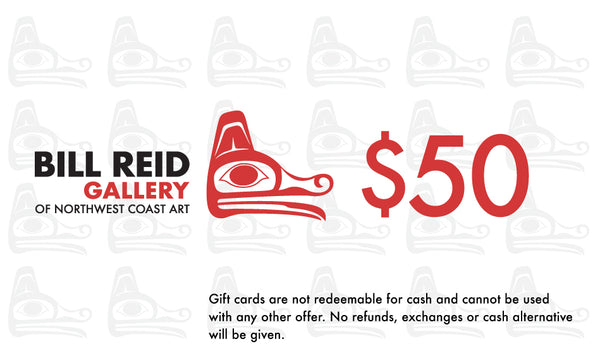 Bill Reid Gallery Online Store Gift Card