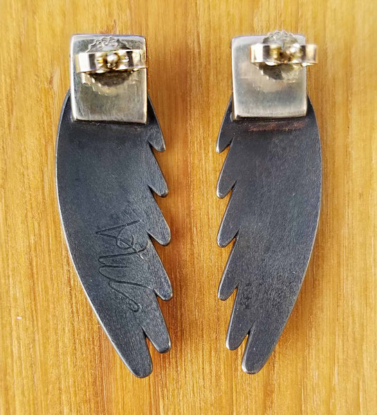 Raven - Dark Sun 'Wings' Earrings