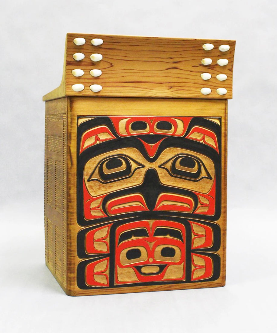 Eagle- Red Cedar Bentwood Box