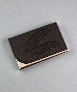 Black Feather - Card Holder
